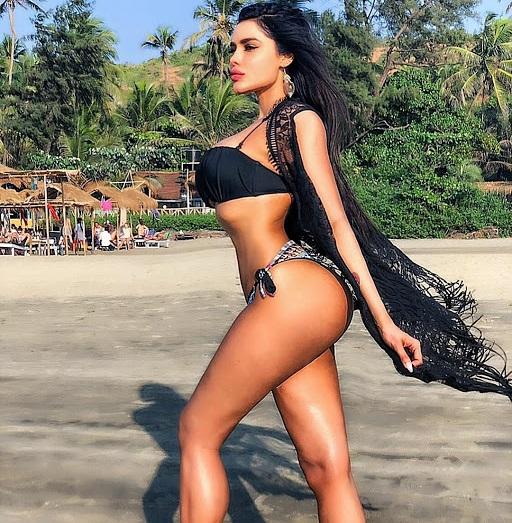 ex bigg boss fame gizele thakral looks hot