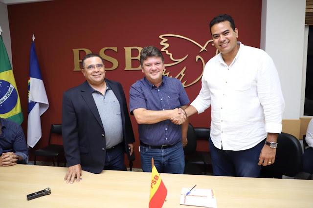 PSB marca convenção para o dia 16 e apresentará Klaus Lima como candidato a prefeito de Escada