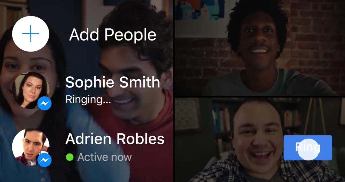 Facebook annuncia le Videochiamate di gruppo su Messenger | Video HTNovo