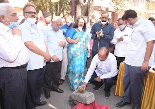 बीजेपी नगरसेविका के काम का श्रेय लेना ,कांग्रेस को पड़ा भारी  | #NayaSaberaNetwork