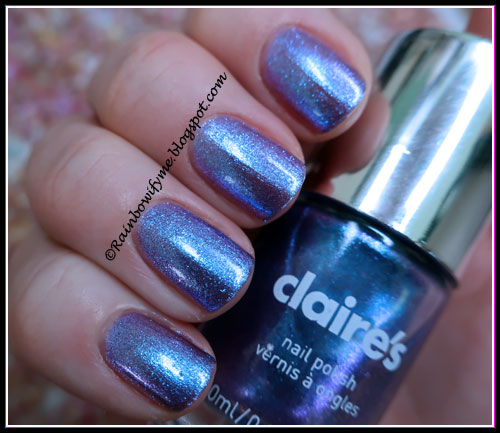 Claire's: #69925 Purple Holo