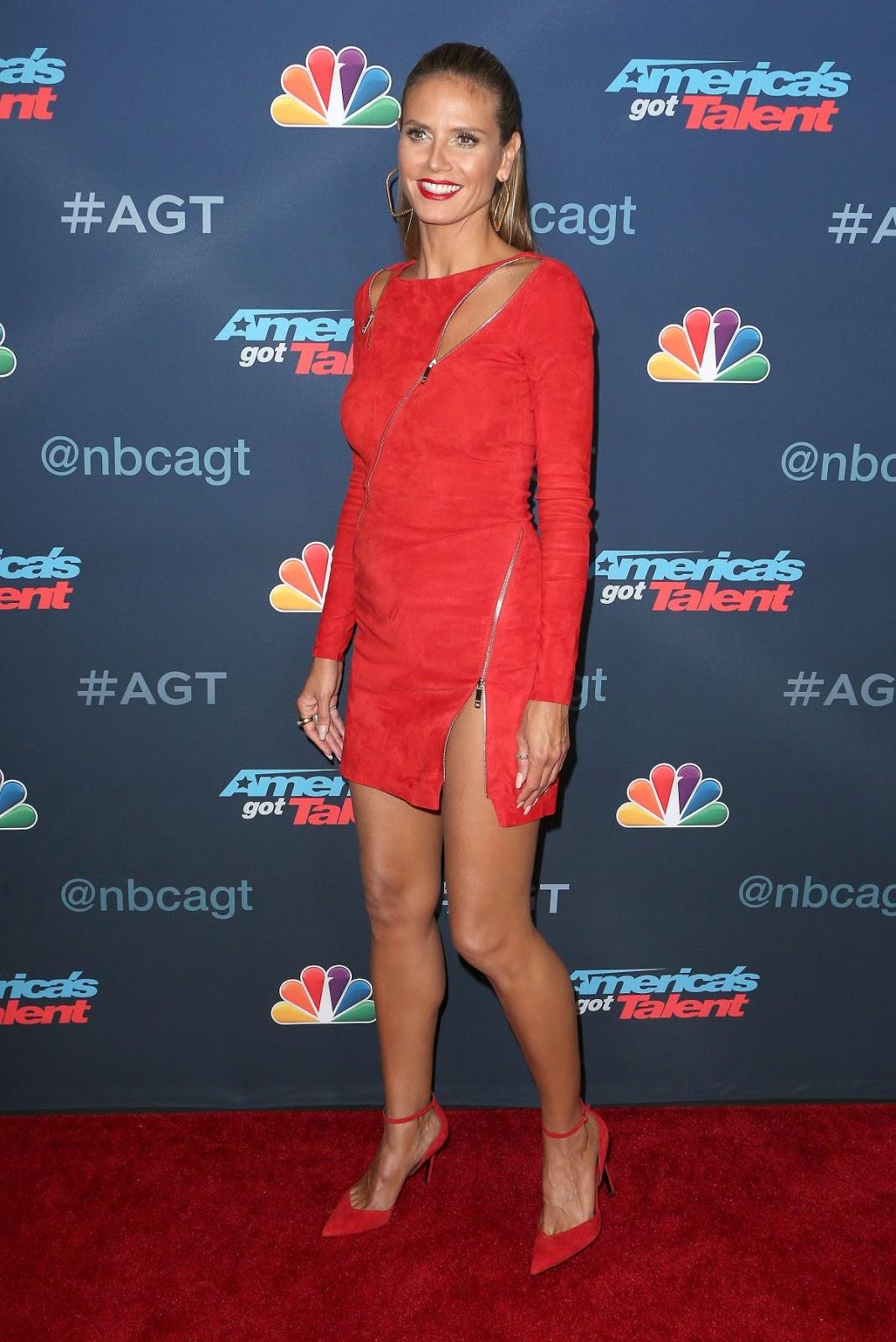 HD Photos of Heidi Klum at America's Got Talent Season 11 Llive Show in Hollywood