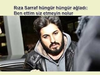 Rıza Sarraf hüngür hüngür ağladı: Ben ettim siz etmeyin nolur | Reza Zarrab davası
