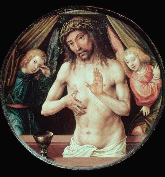 Jésus-Christ et le Saint Graal.