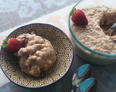 Stovetop Barley Pudding