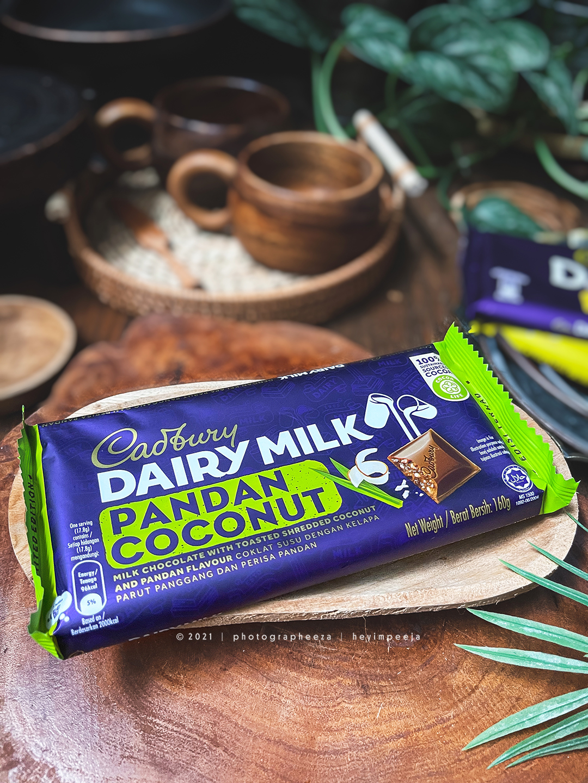 Cadbury Chocolate Pandan Coconut