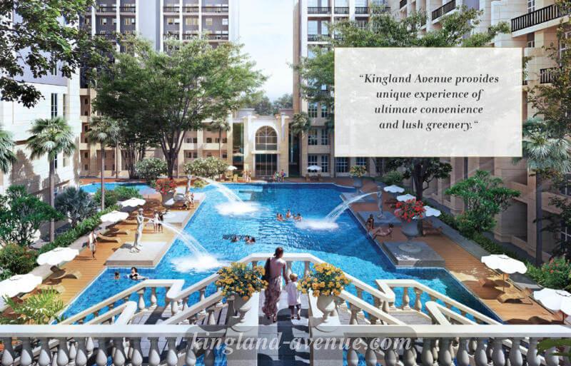 Swimming Pool @ Kingland Avenue