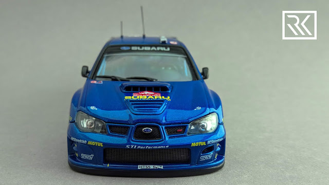 Photo of 1:43 AUTOart Subaru Impreza S12 WRC '06 from Rallye Monte-Carlo 2007, driven by Petter Solberg / Phill Mills