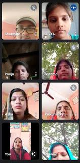वर्चुअल बैठक में प्रधानाध्यापिका संयुक्ता ने दी जानकारी | #NayaSaberaNetwork