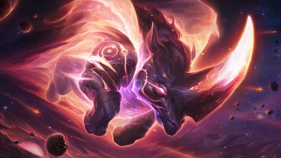 The Destroyer, Targon, Celestial, Legends of Runeterra, 4K, #5.2749