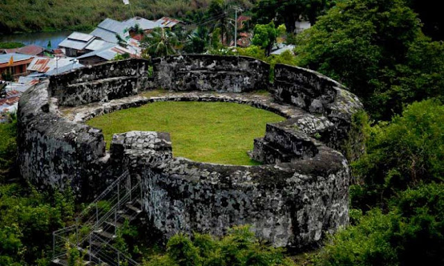 The Historical Site of Otanaha Fort in Gorontalo, Which is a Silent Witness to the Indonesian Struggle