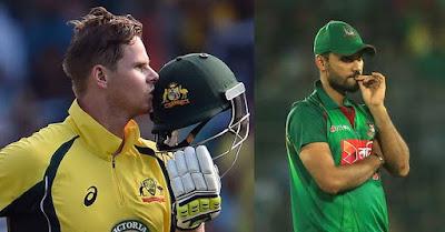 AUS vs BAN ICC WORLD CUP 26th match Prediction