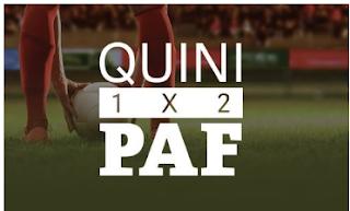 quinipaf ¡Gana 20€ en dinero real! hasta 5-10-2019