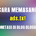 Cara Memasang ads.txt untuk Monetasi di blog Blogger