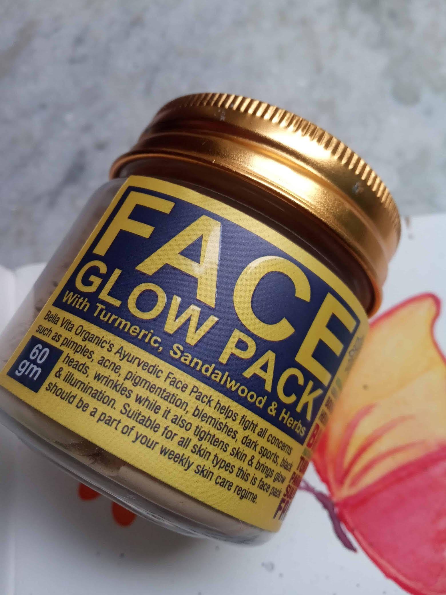 Bella Vita Organic Face Glow Pack review