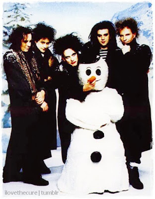 The Cure and a Snowman