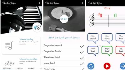 The Ear Gym - Ear Trainer |تطبيق تدريب الأذن للموسيقى