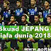 Skuad Jepang Piala Dunia 2018