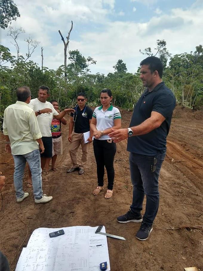 EM MANACAPURU: CONSTRUÇÃO DE MAIS UMA ESCOLA EM ALVENARIA NA ZONA RURAL.
