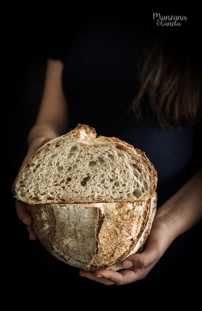 Pan de masa madre (con opción sin masa madre)