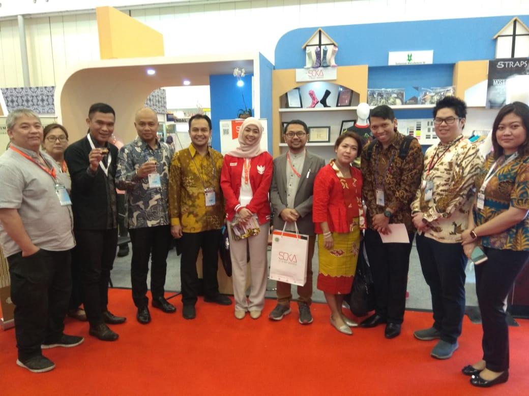 Beragam usaha lokal di Trade Expo Indonesia 2019