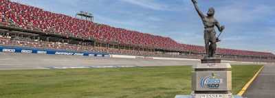 The Mighty Vulcan Trophy Awaits Talladega Superspeedway's GEICO 500 Winner