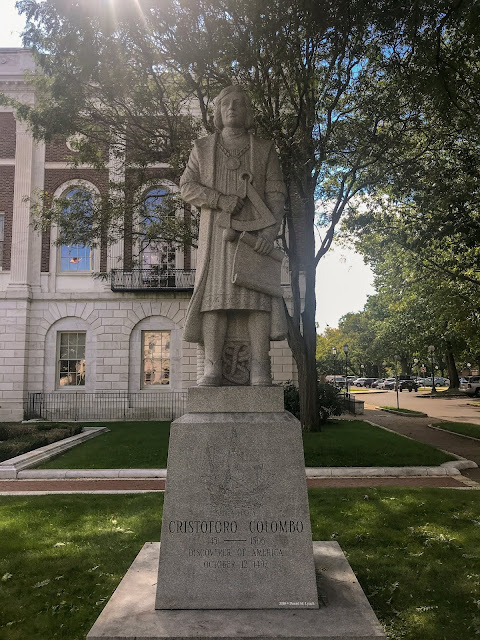 Christopher Columbus, City of Waterbury CT