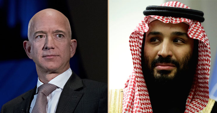 Jeff Bezos Phone Hacked by Mohammed Bin Salman