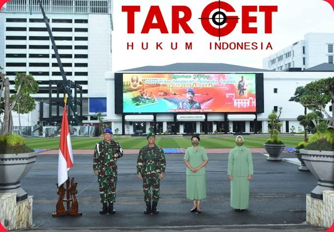 Kasad Jenderal TNI Andika Perkasa Terima Laporan Korps Kenaikan Pangkat 12 Pati TNI AD
