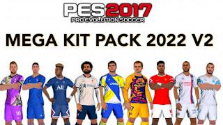 Mega KIT PACK 21-22 V2 FOR PES 2017