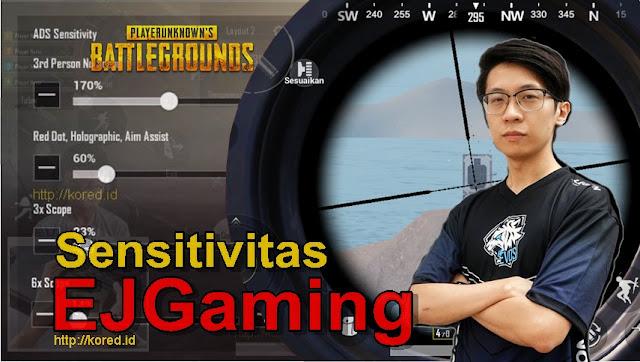 Sensitivitas EJGaming Pubg Mobile