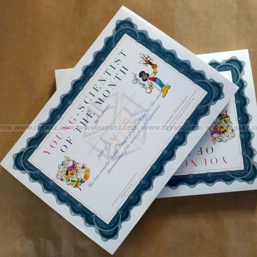 a4 certificates printing services in chennai