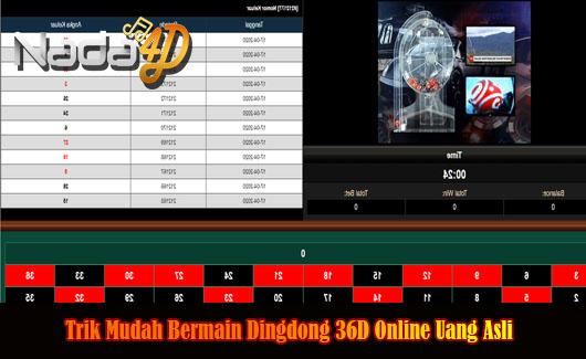 Trik Mudah Bermain Dingdong 36D Online Uang Asli