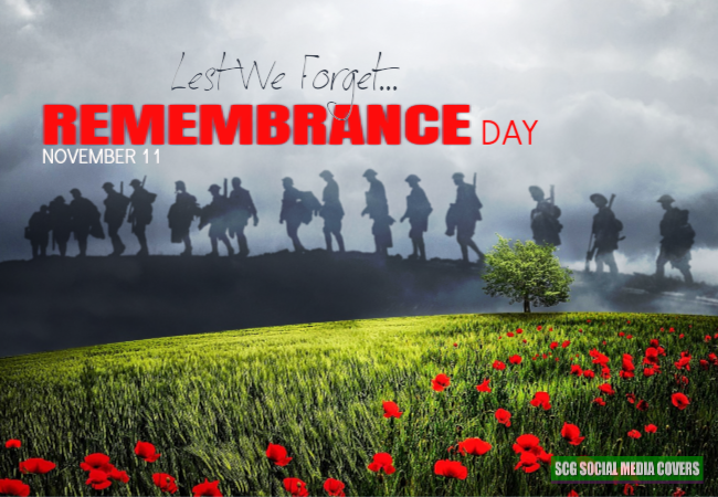 scg social media covers banners remembrance day