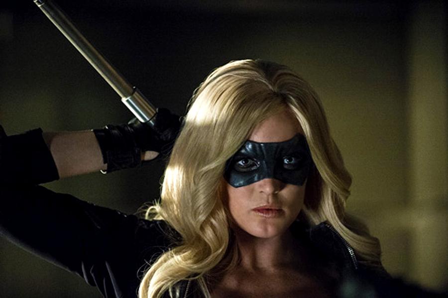 Canaryl în ultimul episod din sezonul 2 al serialului Arrow