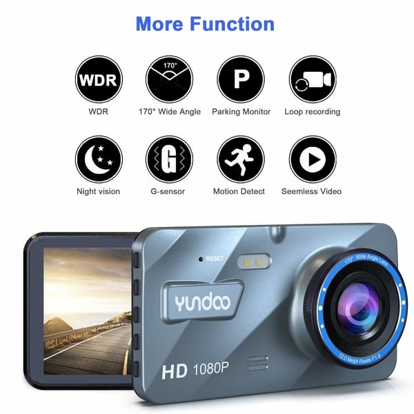 YUNDOO model DT28 Full HD Dash Camera for Cars