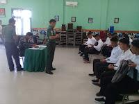 Dandim 0910/Malinau Berikan Pengarahan Kepada Calon Prajurit TNI - AD