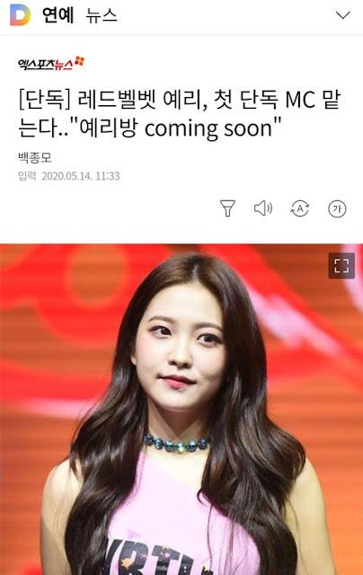 [PANN] Red Velvet'in son zamanlardaki programı
