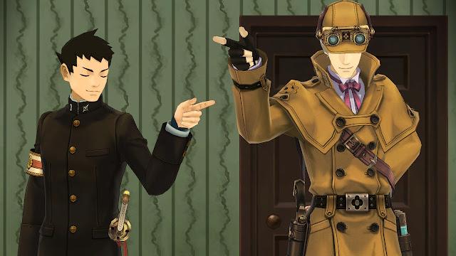 The Great Ace Attorney Chronicles (Switch) promete trazer novamente o gostinho dos tribunais com um toque de drama de época