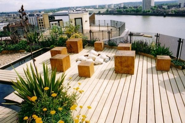 50 Desain Rooftop Garden Yang Asri Dan Elegan Rumahku Unik