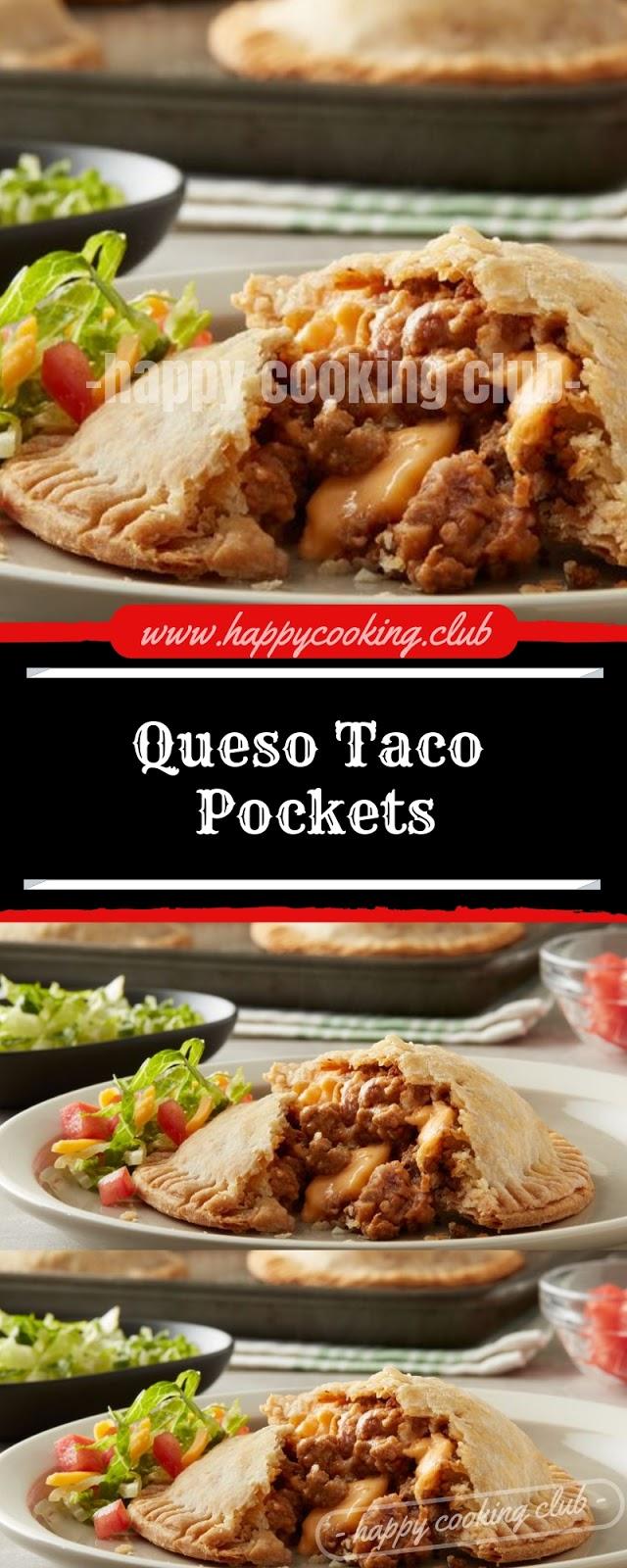 Queso Taco Pockets