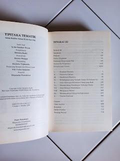 Tipitaka Tematik Sabda Buddha Dalam Kitab Suci Pali