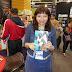 Akari Berganzo, presentó en la FIL, Mishka, el gato sanador