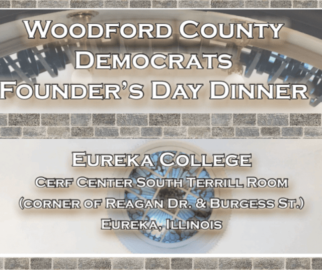 Woodford County Democrats Founder's Day Dinner 2019, Metamora Herald