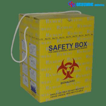 tempat limbah medis safety box