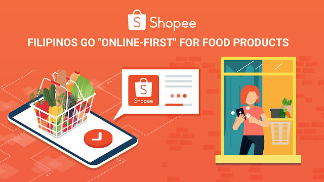 """Shopee Sees """"Online-First"""" Shift for Food Products, as Filipinos Adapt to the New Normal"""