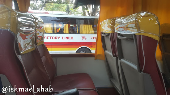 Victory Liner Bus to Baguio City