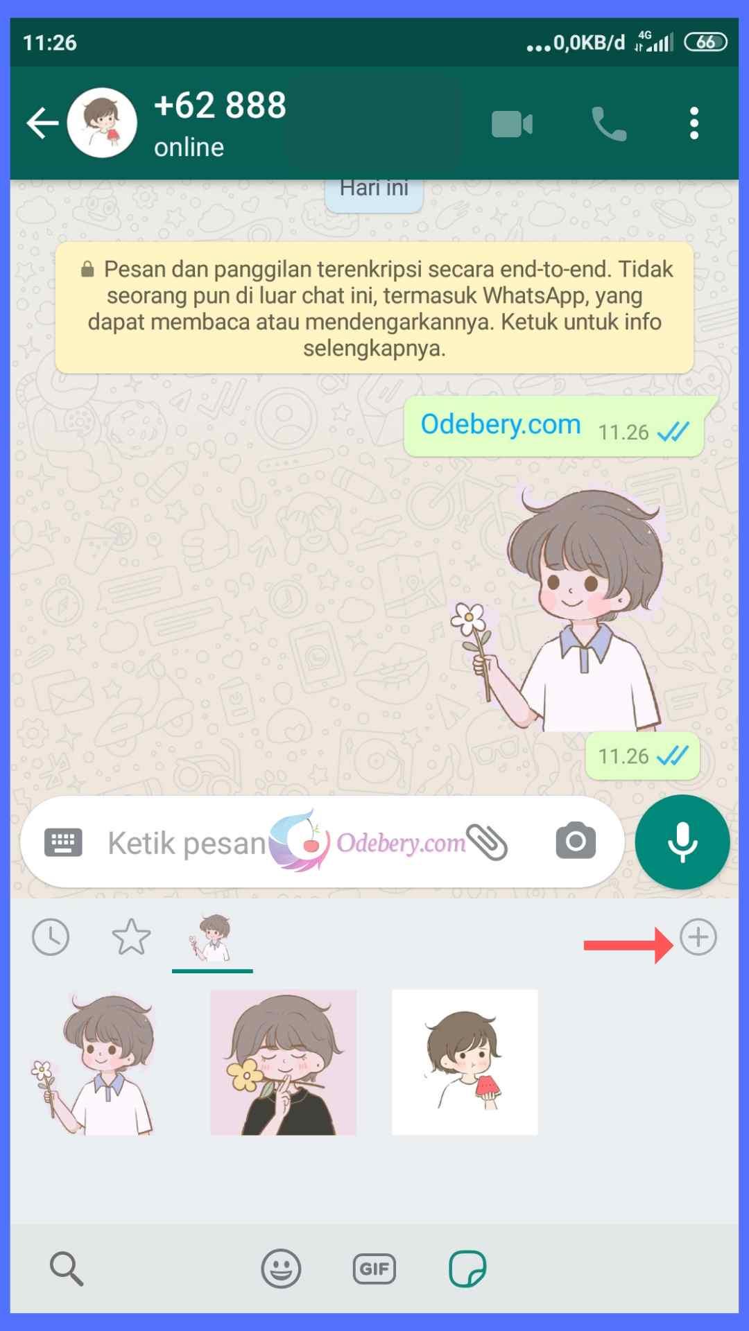 Cara membuat stiker di whatsapp tanpa aplikasi