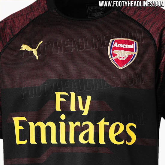 big sale 6bb65 25b68 2 Interesting Arsenal 18-19 Goalkeeper Kits Released - Footy ...