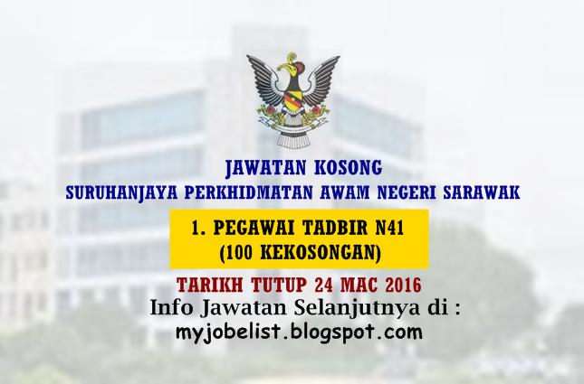 Jawatan Kosong Terkini Di Spa Sarawak 24 Mac 2016